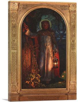 Artcanvas The Light Of The World 1851 Canvas Art Print By William Holman Hunt by Ebay Seller