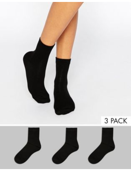 Asos Design – 3 Pack Ankelstrumpor by Asos Design