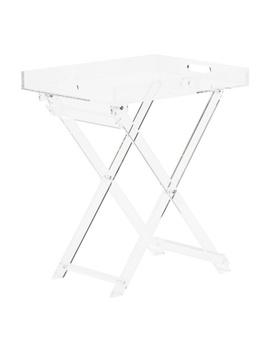 Acrylic Folding Table by Tj Maxx