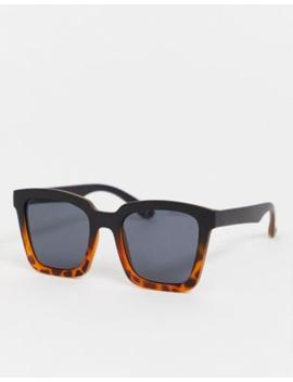 Gafas De Sol Cuadradas Con Diseño De Carey Degradado De Asos Design by Asos Design
