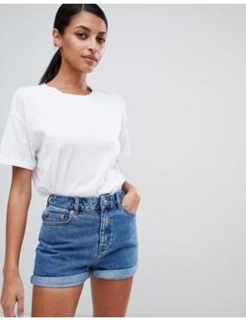 """Asos Design – Ritson – Blå Jeansshorts I """"Mom Shorts"""" Modell by Asos Design"""