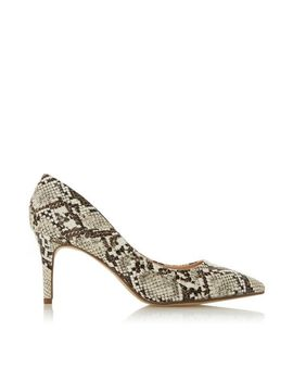 *Head Over Heels By Dune Multi Colour Snake Print 'Aisla' Court Shoes by Dorothy Perkins