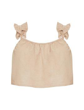 Stone Frill Hem Skirt by Prettylittlething