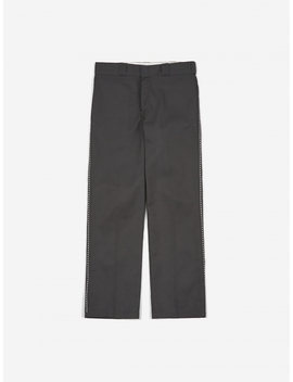 X Goodhood Original 874 Work Trouser   Charcoal/White St by Dickies
