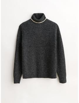 Donegal Roll Neck Sweater by Alex Mill