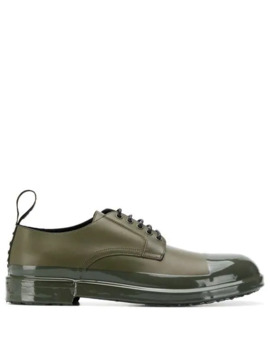 Shiny Toe Cap Derby Shoes by Dolce & Gabbana