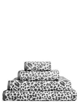 Leopard Design Cotton Towel by Marks & Spencer