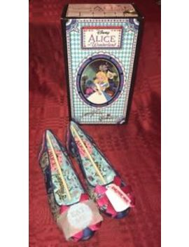 Irregular Choice Alice In Wonderland Which Way Size Us 7 Limited Edition by Irregular Choice