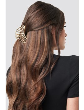 Metal Shell Hair Clip Guld by Na Kd Accessories