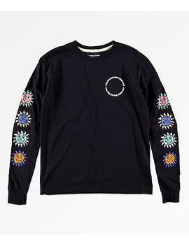 Volcom Boys Kook Gang Black Long Sleeve T Shirt by Volcom