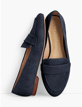 Ryan Keeper Loafers   Nubuck Leather by Talbots
