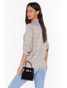 Want Patently Clear Mini Crossbody Back by Nasty Gal