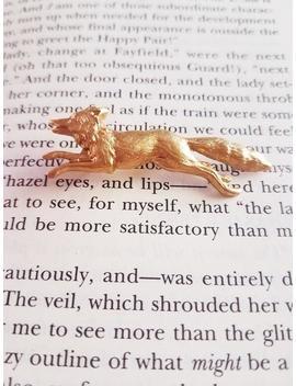 Fox Pin Brass Pin Animal Pin by Etsy