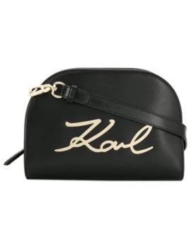 сумка через плечо 'k/Signature' by Karl Lagerfeld