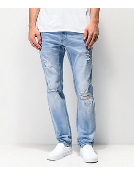 Empyre Skeletor Rush Ext Stretch Skinny Jeans by Empyre