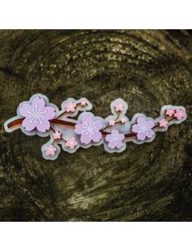 Sakura Cherry Blossom Brooch by Etsy