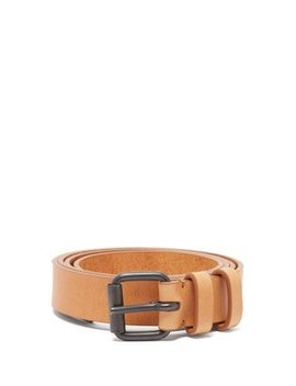 Buckled Leather Belt by Haider Ackermann