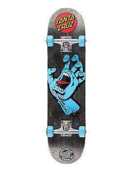 "Santa Cruz Screaming Hand Black 7.5"" Skateboard Complete by Santa Cruz Skate"