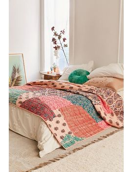 Sella Patchwork Quilt by Urban Outfitters