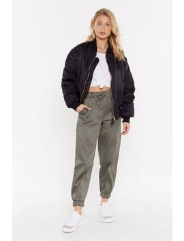 On The Car Go Relaxed Trousers by Nasty Gal