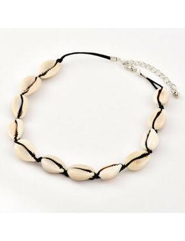 Boho Beach Bohemian Sea Shell Pendant Chain Choker Necklace Fashion Jewelry by Unbranded