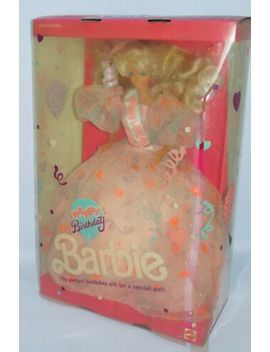 1990 Happy Birthday Barbie Doll Nrfb by Barbie