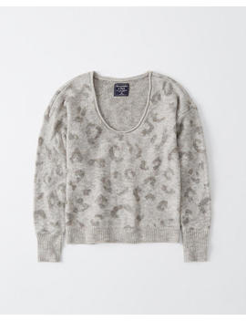 Scoopneck Sweater by Abercrombie & Fitch