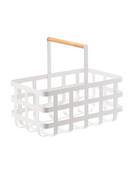 Tosca Storage Basket With Handle by Container Store