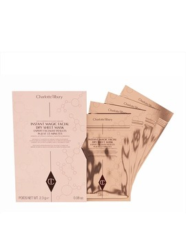 Charlotte Tilbury Instant Magic Facial Dry Sheet Mask   Pack Of 4 by Charlotte Tilbury