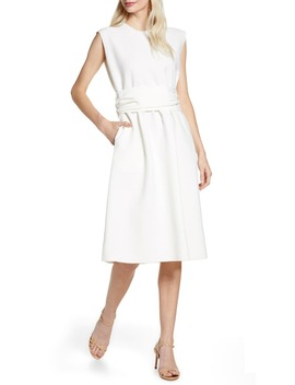 Muni Belted Shift Dress by Caara