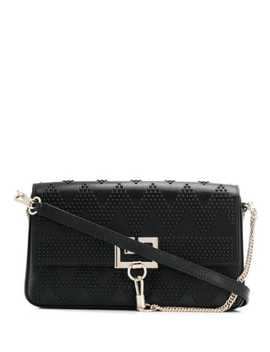 Tonal Stud Charm Shoulder Bag by Givenchy
