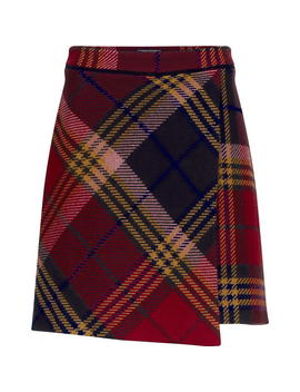 Tommy Hilfiger Kathleen Mini Wrap Skirt by Tommy Hilfiger