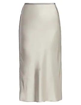 Double Satin Slip Skirt by Helmut Lang