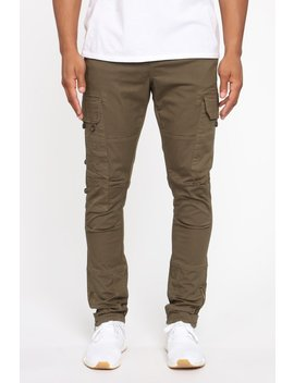 Airdrop Cargo Pant   Olive by Fashion Nova