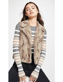 Jack By Bb Dakota Aint It Fuzzy Faux Fur Vest by Bb Dakota