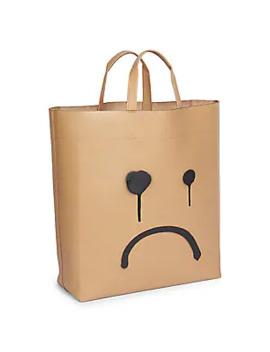 Frown Medium Market Tote by Balenciaga