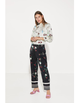Floral Print Shirt New Inwoman by Zara