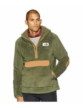 New Mens The North Face Pullover Campshire Sherpa Fleece Hoody Jacket Coat Top by The North Face
