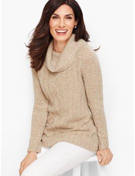 Marled Cowlneck Sweater by Talbots