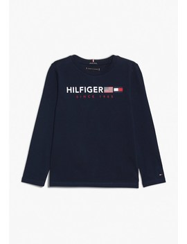 Flags Graphic Tee   Langarmshirt by Tommy Hilfiger