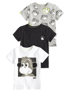 Monkey Three Pack   T Shirt Print by Next