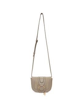 Grey Mini Hana Bag by See By ChloÉ