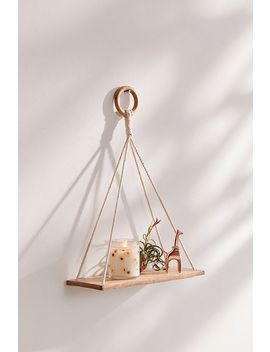 Elie Macramé Hanging Shelf by Urban Outfitters