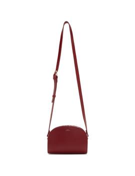 Red Mini Demi Lune Bag by A.P.C.