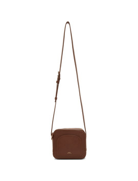 Brown Louisette Bag by A.P.C.