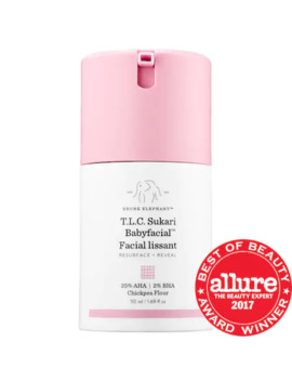 T.L.C. Sukari Babyfacial™  25 Percents Aha + 2 Percents Bha Mask by Drunk Elephant