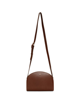 Brown Demi Lune Bag by A.P.C.