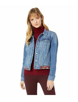 Tapestry Patchwork Classic Denim Jacket by Two By Vince Camuto