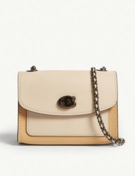 Parker Mini Leather Cross Body Bag by Coach