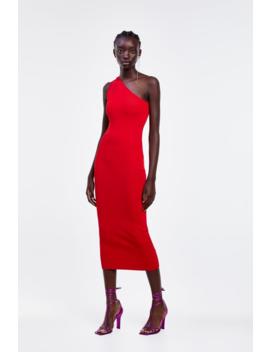 Asymmetrical Slip Dress View All Dresses Woman by Zara